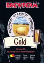 Brewferm Gold (2.6Gall) Euro Lager Beer Kit